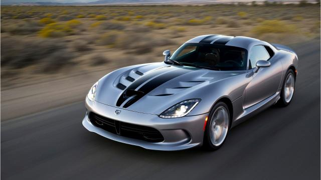 As FCA closes Detroit plant, Dodge Viper production ends