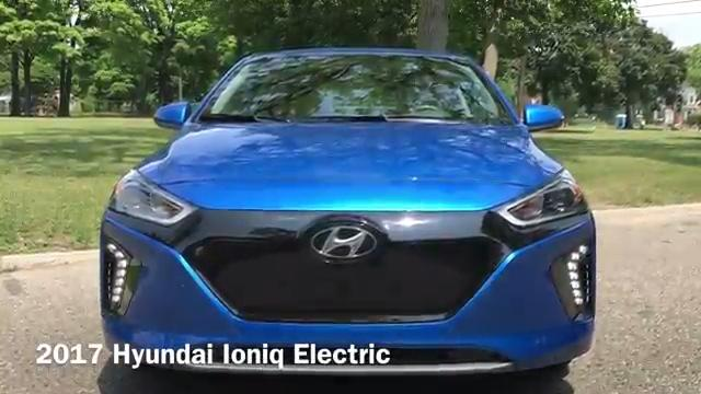 2017 Hyundai Ioniq Electric video review