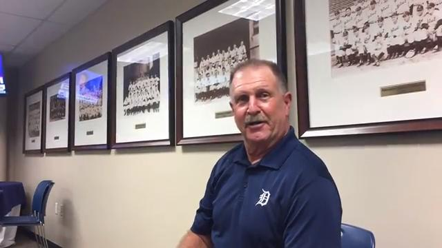 Former Tigers pitcher Dan Petry talks about team meetings and what can be done to help Daniel Norris on July 15, 2017.