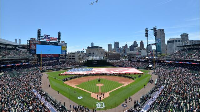 Let's look back the major events -- besides Tigers baseball -- that Comerica Park has hosted. Video by Ryan Ford/DFP