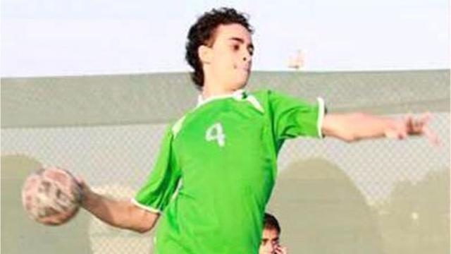 Mujtaba Al-Sweikat was sentenced to death for participating in pro-democracy rallies, officials say.