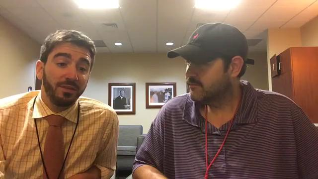 Free Press sports writers Anthony Fenech and  George Sipple break down the trade winds swirling over the Tigers from Kansas City, Mo.