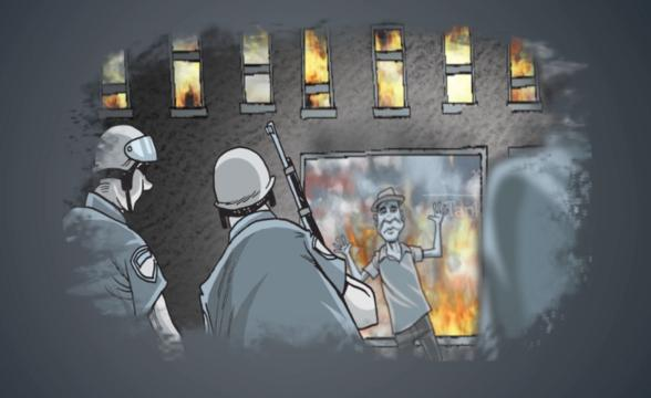 Mike Thompson's animated look at the 50th anniversary of the Detroit uprising.