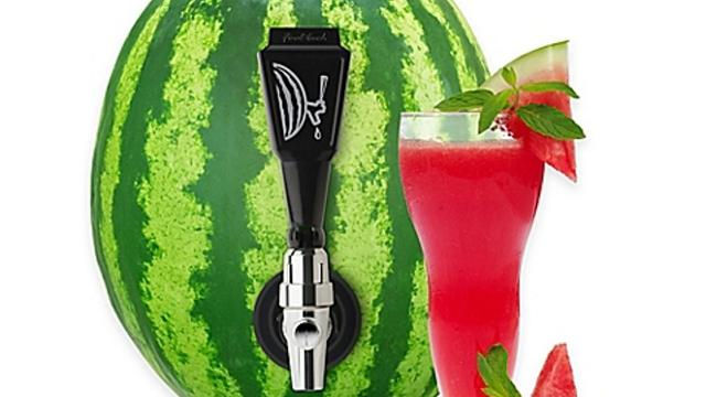 Watermelon and vodka keg is everything your summer needs