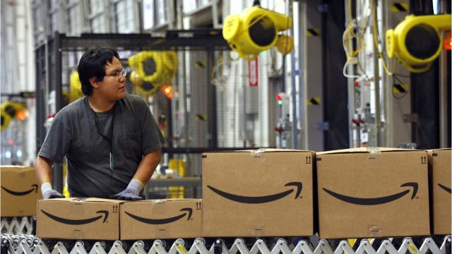 Amazon building distribution centers in Michigan