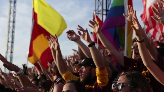 Detroit City FC fans watch a friendly game between Detroit City FC and Venezia FC (Italy) at Keyworth Stadium, Tuesday, July 18, 2017 in Hamtramck. Video by Junfu Han/DFP