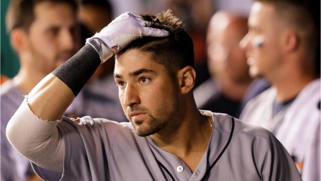Nicholas Castellanos leads the AL in triples. Other Tigers of the past 60 years to lead the AL. Video by Ryan Ford/DFP