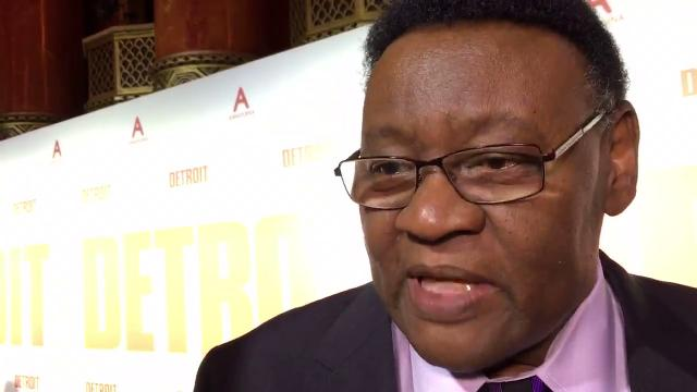 We talk with former Detroit Police Chief Ike McKinnon on the red carpet at the world premiere of 'Detroit' at the Fox Theatre in Detroit.