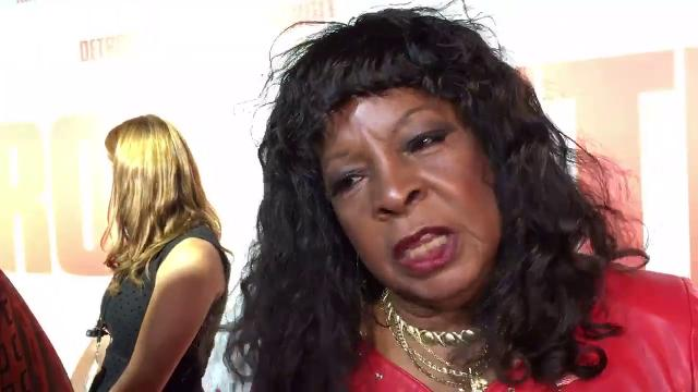 Motown legend Martha Reeves walks the red carpet at the World Premiere of 'Detroit.'