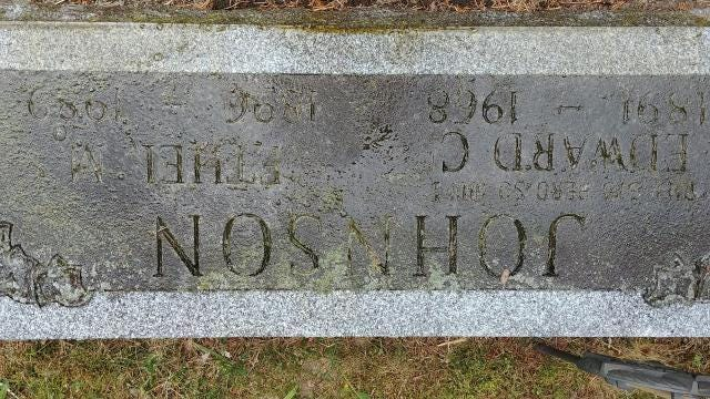 This World War I grave stone was heading to a landfill - before the power of Facebook helped embark it on a return to Michigan, where it belongs. Video by Allie Gross, DFP.