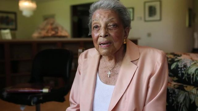 Judge Lucile A. Watts was a lawyer in 1967 and worked with other lawyers of color to get black men released from authorities during the Detroit riot.
