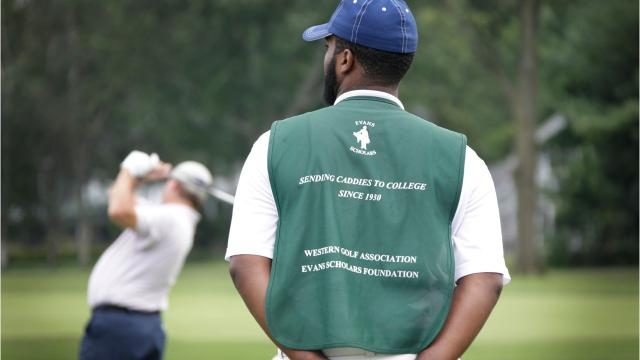 The Evans Scholarship is a national program that supports nearly 1,000 caddies in college every year on full-ride scholarships.