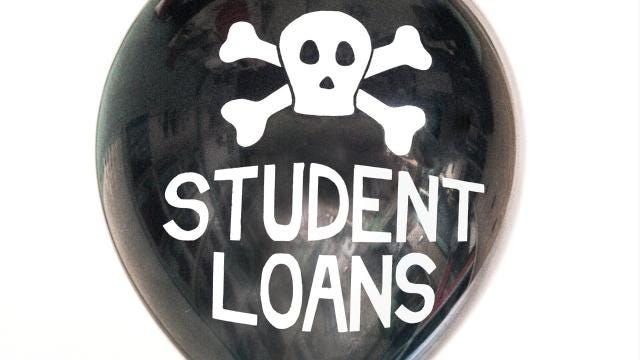 Will your private student loans soon be erased? Don't bet on it