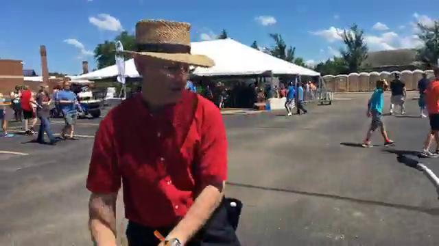 Check out this 'Exercycle' at Detroit Maker Faire