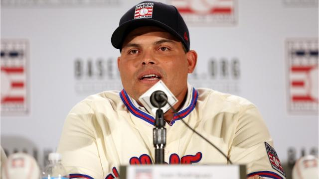 Pudge Rodriguez catches on in Hall of Fame