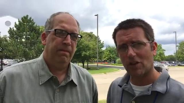 Free Press sports writers Dave Birkett and Shawn Windsor discuss what they saw from Lions rookies Kenny Golladay, Teez Tabor and Jarrad Davis and their expectations in Year 1 on Friday Aug. 4, 2017 in training camp.