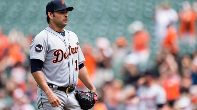 With Anibal Sanchez's rough outing against the Orioles on Aug. 6, 2017 in mind, here are the five Detroit Tigers starters since 1913 to allow five home runs in a game. Video by Ryan Ford/DFP
