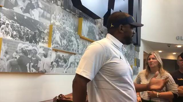 Michigan's Pep Hamilton on what he wants from QBs
