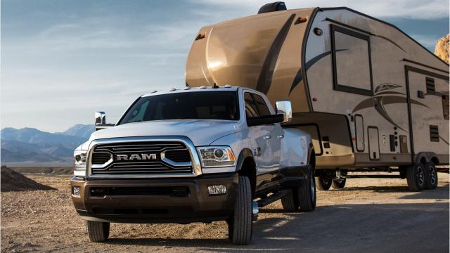 The 2018 Ram 3500 Heavy Duty pickup rates 930 pound-feet of torque, which Fiat Chrysler says is the highest rating ever for a pickup truck.