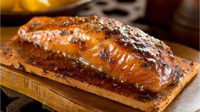 You can grill salmon over direct heat if you pay close attention to the heat.