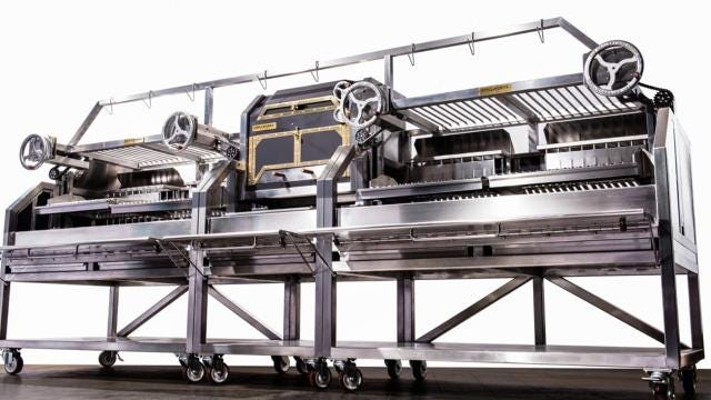 Sales heating up for this Michigan grill maker
