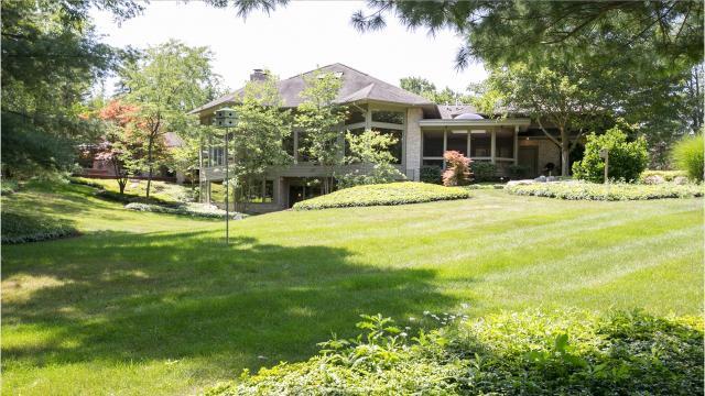 Ann Arbor estate is private and quiet