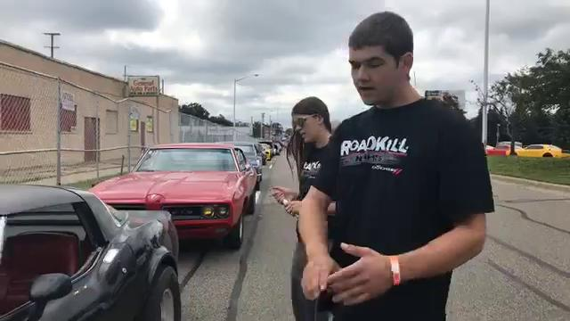 Roadkill Nights tech inspectors explain what they look for before the race.