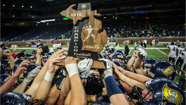 Free Press ranks: The top 15 high school football players in Michigan