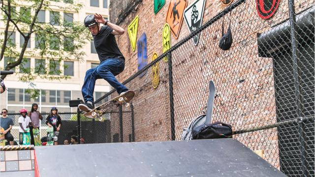 Tony Hawk unveils new skate park in downtown Detroit