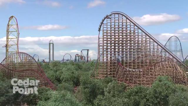 Check out Cedar Point's new roller coaster Steel Vengeance