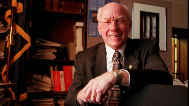Former U.S. Rep. Vern Ehlers, a nuclear physicist and former Calvin College professor who served more than 17 years in Congress as a moderate Republican representing a west Michigan district, died in Grand Rapids on Tuesday. He was 83.
