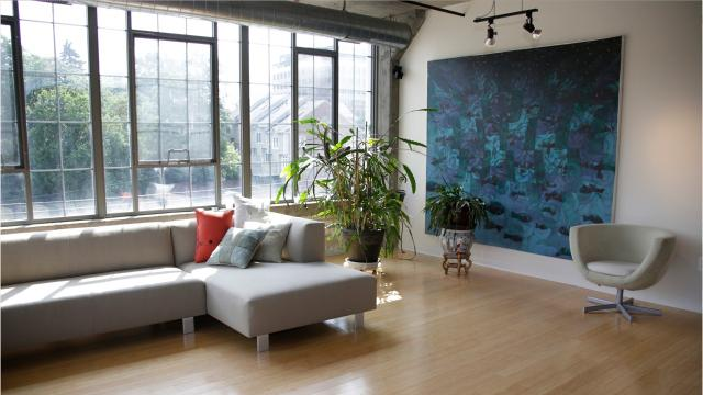 This Ann Arbor condo is an authentic industrial loft – part of a former downtown factory for an auto parts maker.