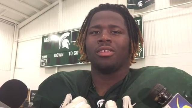 Spartans fight through 'dog days' of camp