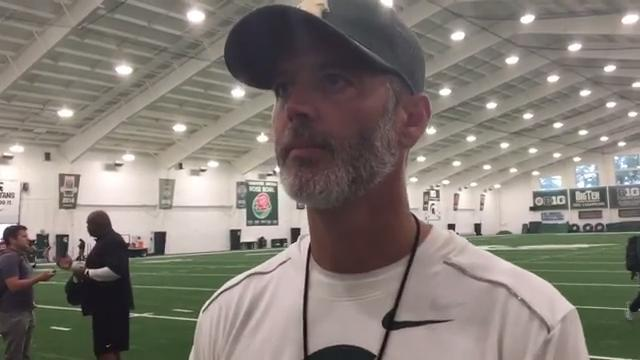 Brad Salem breaks down MSU QB situation