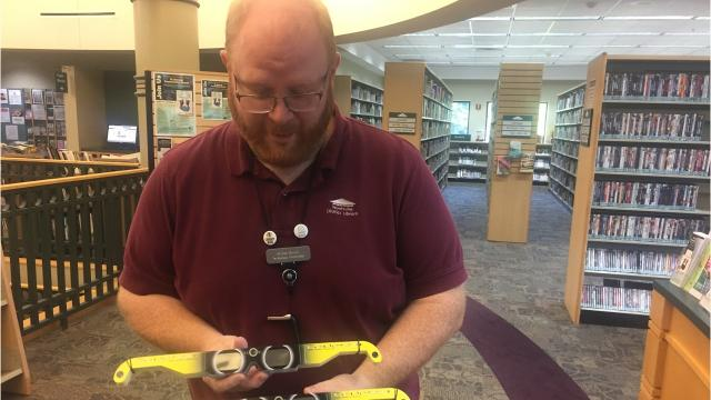 Library distributes free eclipse glasses, runs out immediately