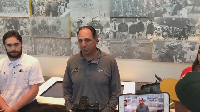 Michigan cornerbacks coach Michael Zordich says sophomore CB Lavert Hill has responded well this fall and is the team's top CB, but Zordich hasn't been pleased with the rest of the group. Recorded Monday, Aug. 21, 2017.