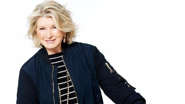 You can hang out with Martha Stewart!