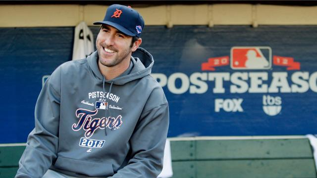 Justin Verlander's 13-year stint with the Detroit Tigers was nothing short of remarkable. We look back at the right-handed ace's MLB career thus far as he moves on to the Houston Astros. Video produced by Brian Manzullo, DFP.