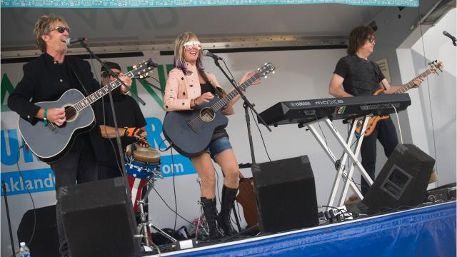 The 20th annual Arts, Beats & Eats festival takes over downtown Royal Oak this weekend. It features food from dozens of restaurants, 200 music acts and art and other offerings from 150 vendors. Ann Zaniewski / Detroit Free Press