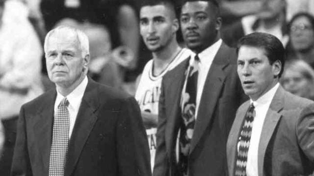 Tom Izzo worked as an assistant on Jud Heathcote's basketball staff  at Michigan State from 1983-95.  He authored this memoir for the Free Press this week in honor of Heathcote, the championship coach who died Aug. 28 at age 90.