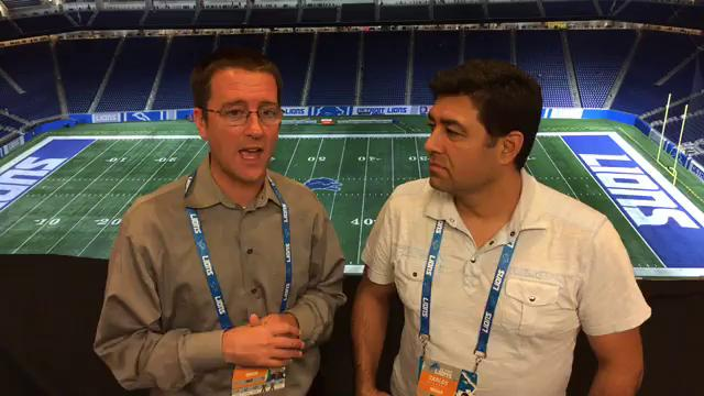 Free Press sports writers Dave Birkett and Carlos Monarrez share their thoughts after the Lions' 35-23 win over the Cardinals on Sunday, Sept. 10, 2017, at Ford Field.