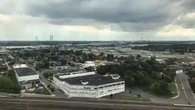 See what the view looks like from Central Michigan Station in Detroit.