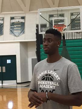 Caris LeVert, who played at Michigan and is getting ready for his second season with the Brooklyn Nets, hosted the first Caris LeVert Basketball Academy on Sunday, Sept. 17, 2017, at Ann Arbor Huron. Video by George Sipple/DFP