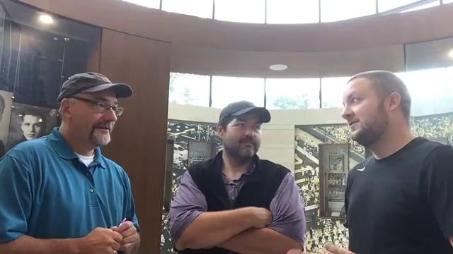 Free Press columnist Jeff Seidel and sports writers George Sipple and Nick Baumgardner talk Michigan football after Jim Harbaugh's press conference on Monday, Sept. 18, 2017.