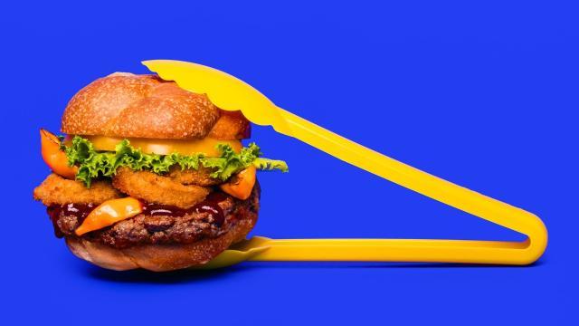 B Spot Burgers debuts plant-based Impossible Burger
