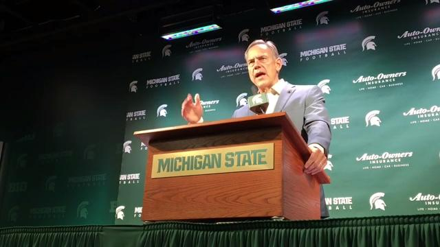 Michigan State coach Mark Dantonio and his Spartans are excited to renew their rivalry with Notre Dame one more time.