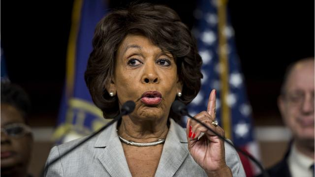 Maxine Waters has no time for Treasury Secretary Steve Mnuchin