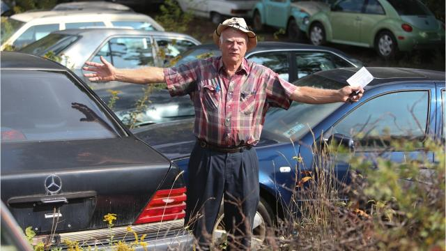 Vehicles are Ron Dauzet's life, but Northfield Township is cracking down on his collection.