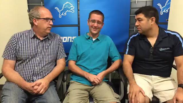 Free Press sports writers Shawn Windsor, Dave Birkett & Carlos Monarrez dissect how Matthew Stafford has improved, the difference in this year's Lions team, and make their predictions for Sunday's showdown with the Falcons. Recorded Sept. 21, 2017.