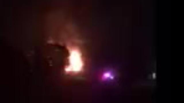 Scorpions Motorcycle Club burns in Lyon Township